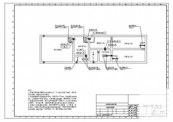 污水处理工艺图纸 - 3
