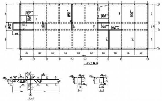 办公楼结构设计图纸 - 4