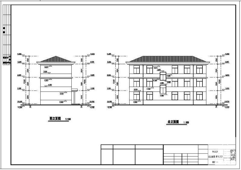 办公楼全套建筑图纸 - 4