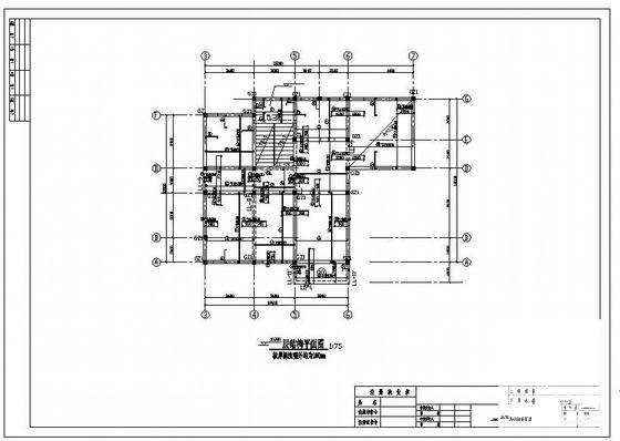 办公楼基础结构 - 4