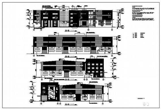 单层建筑施工图 - 1