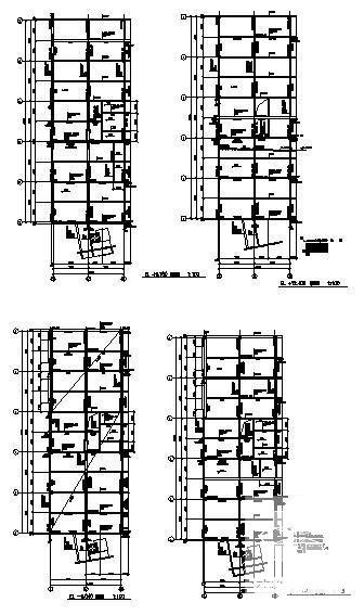 单层建筑施工图 - 3