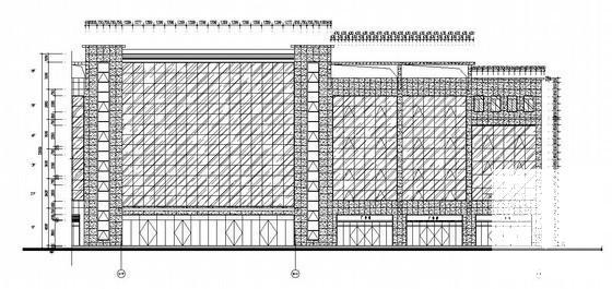幕墙设计施工图 - 4