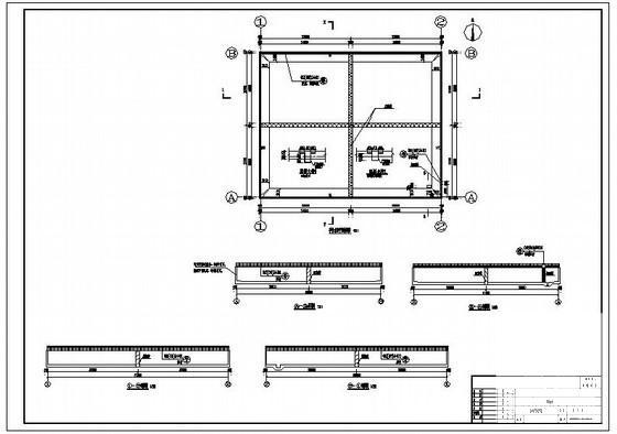 事故水池设计 - 1