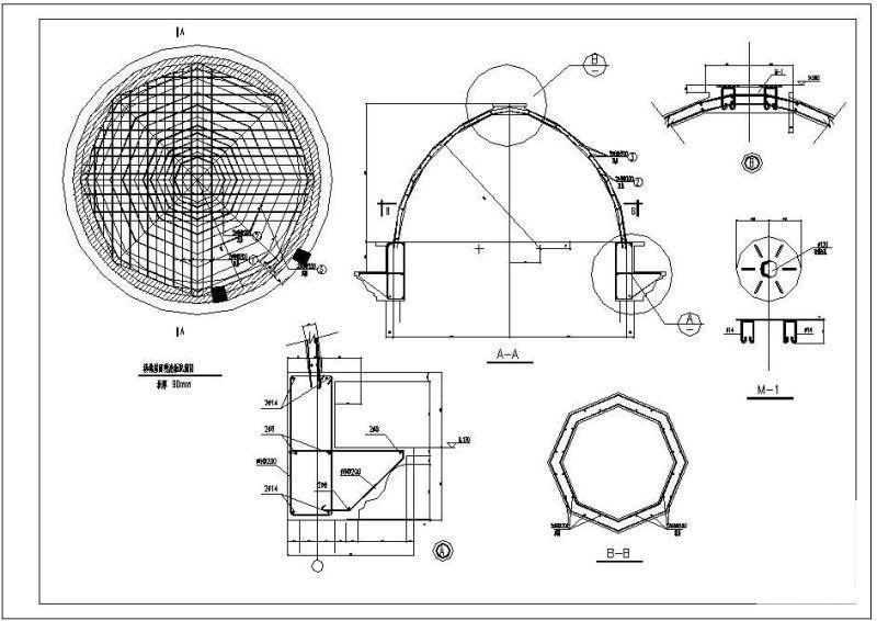 别墅建筑结构图纸 - 2