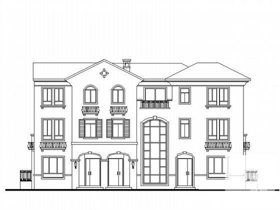 别墅建筑施工图纸 - 1