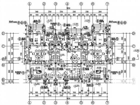 别墅建筑施工图纸 - 4