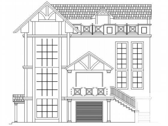 农村住宅建筑设计图 - 1