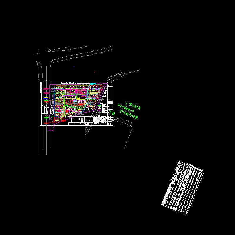 某小区管线综合工程图纸.dwg