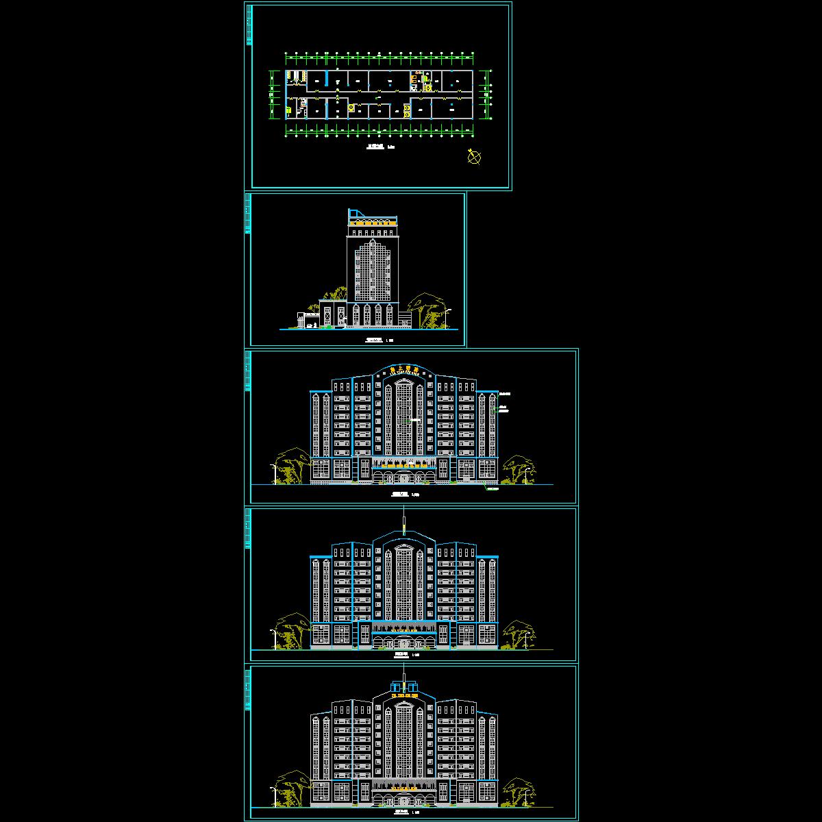酒店设计施工图2.dwg