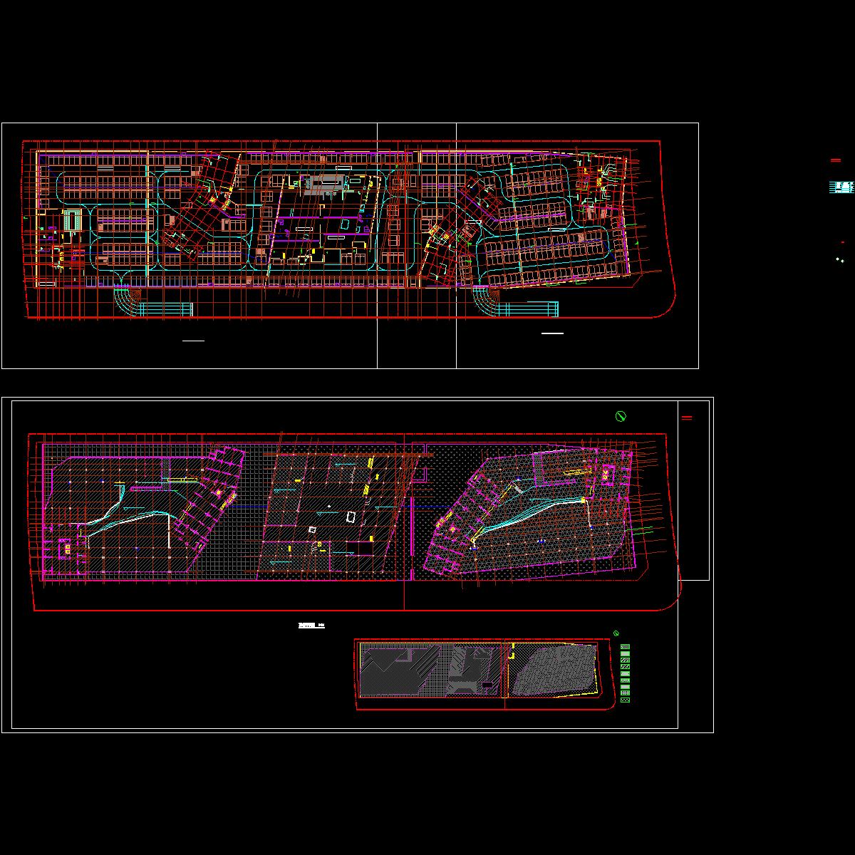 a10-1.2.3号楼地下室一层平面.dwg