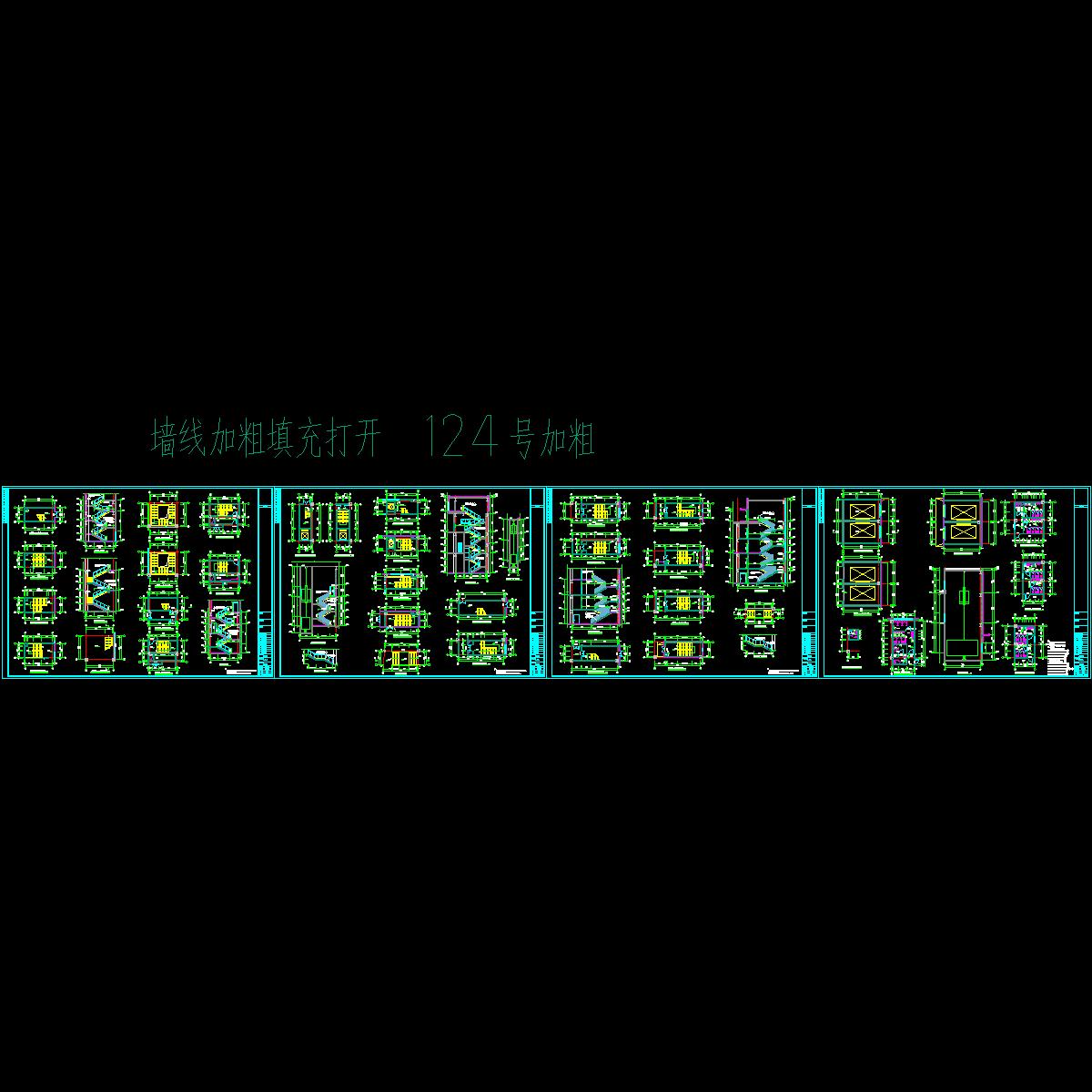 04 唐山中宝bmw 4s楼梯大样图20120416_t3.dwg
