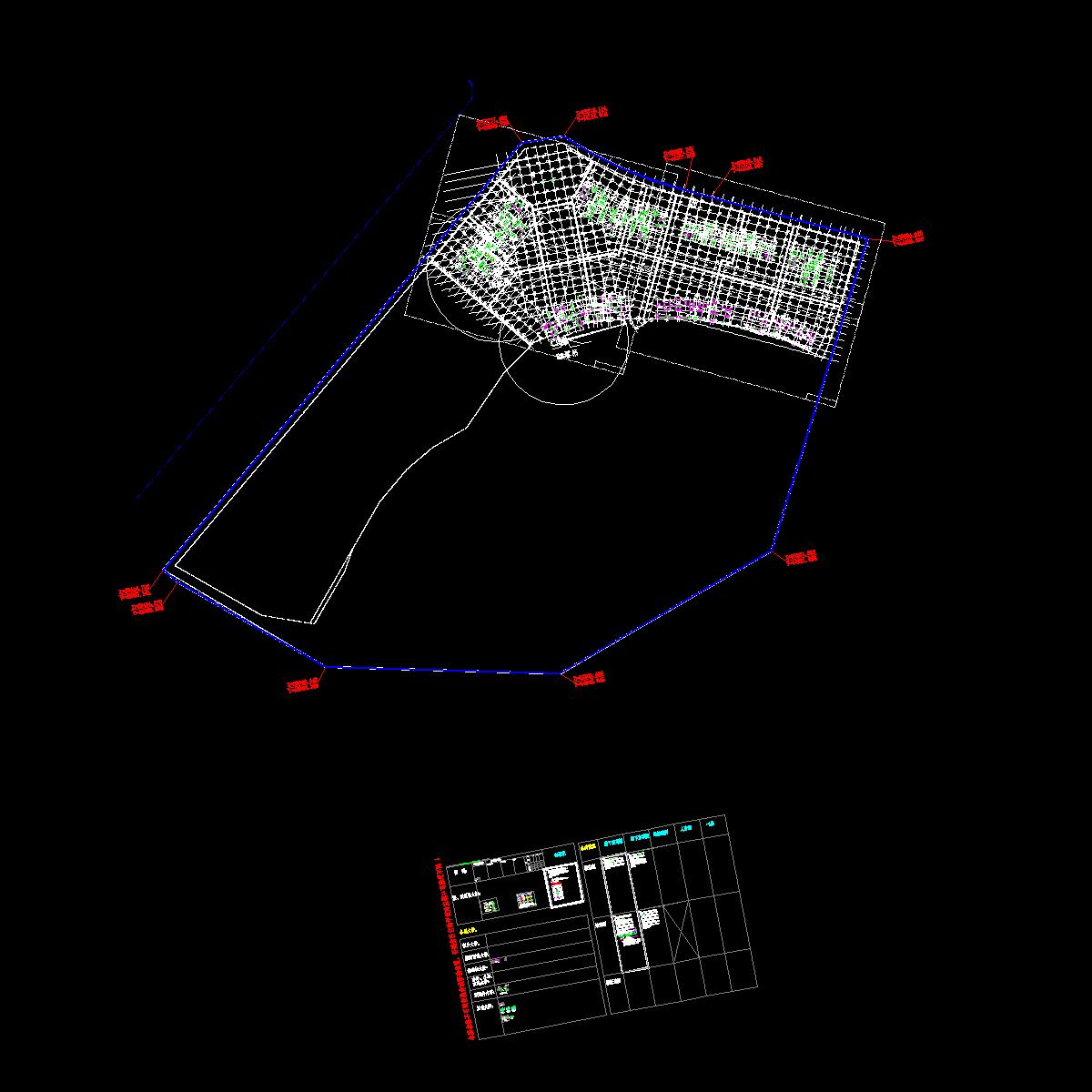 塔吊放入基础平面图.dwg
