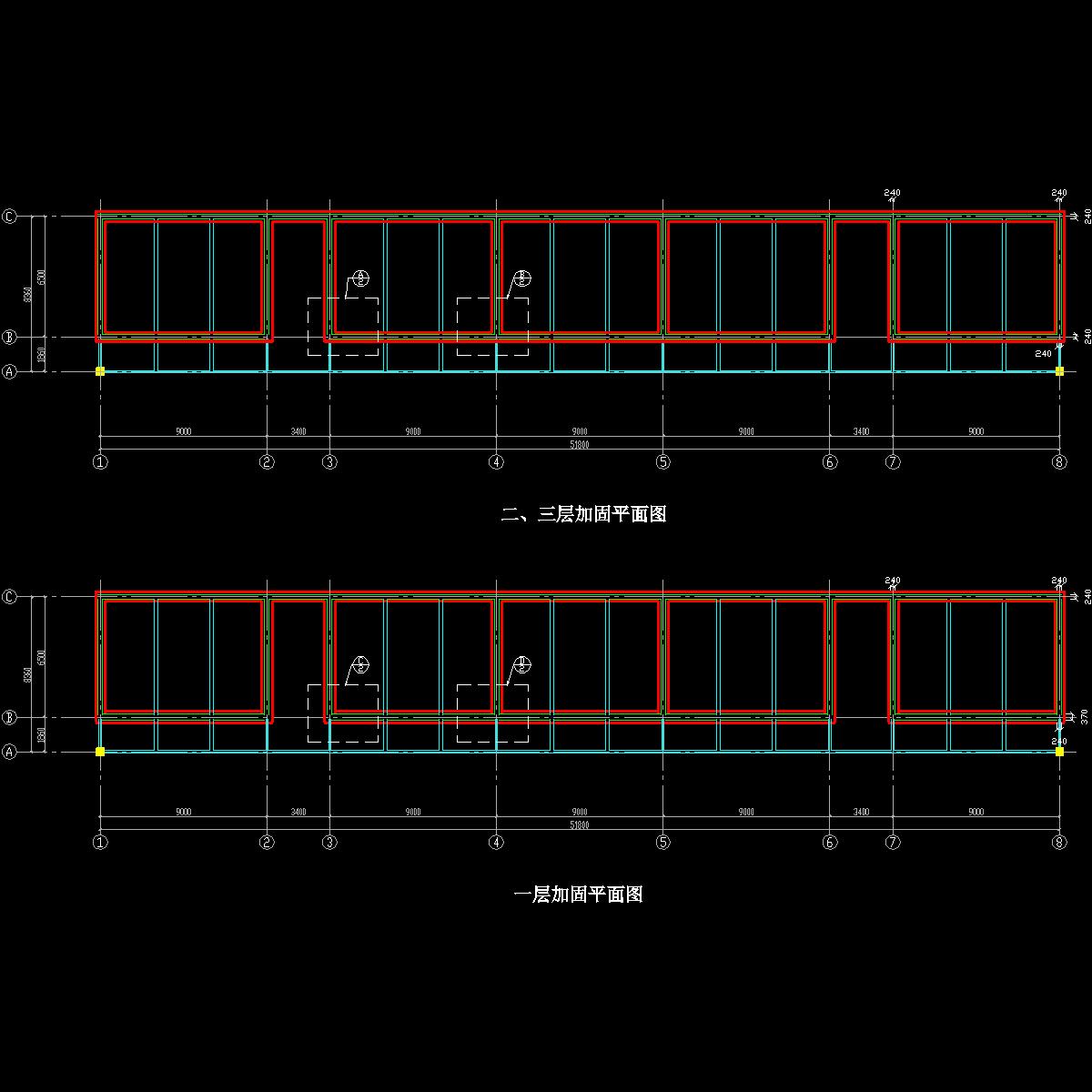 结构加固平面图.dwg