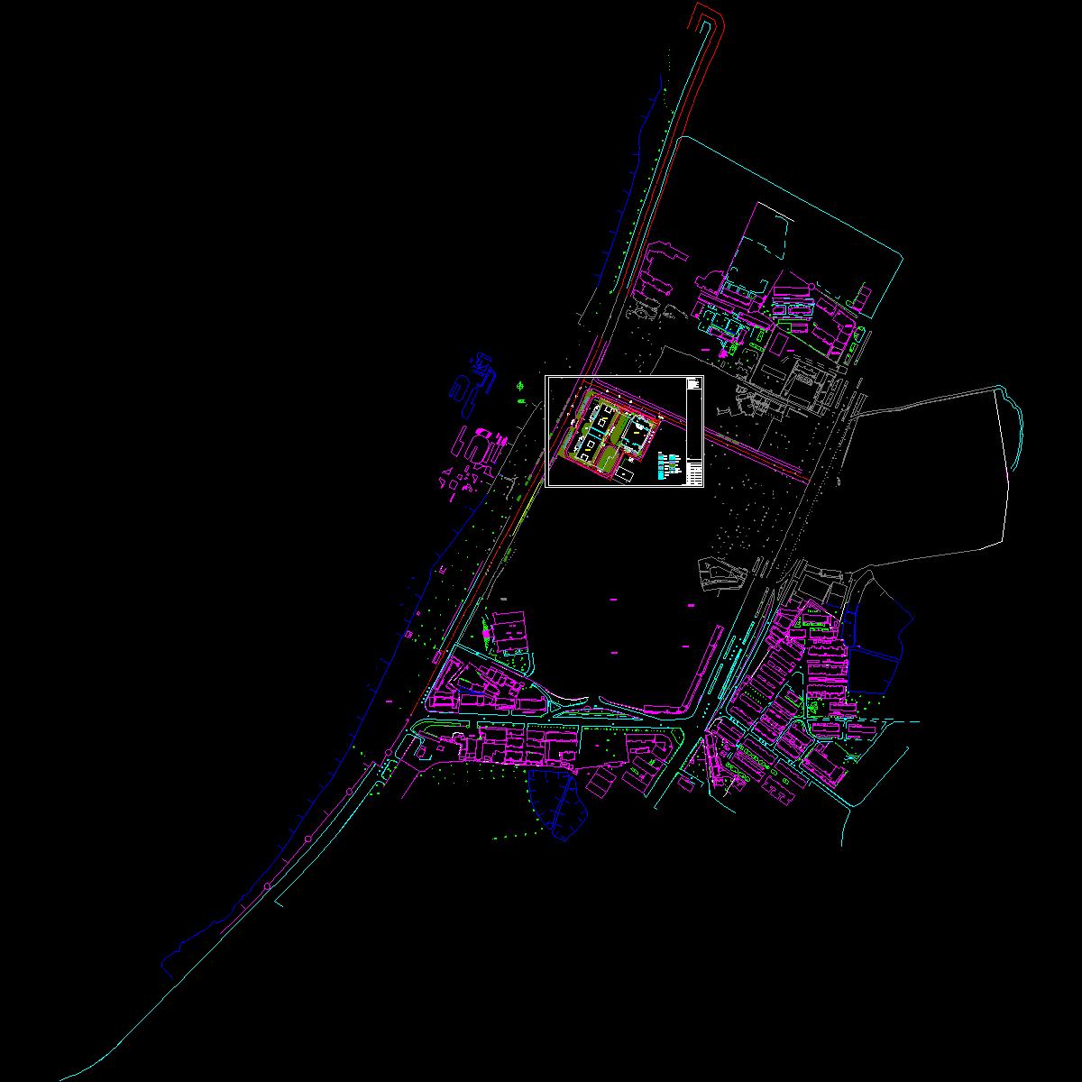 大楼屋顶总平面图008.9.dwg