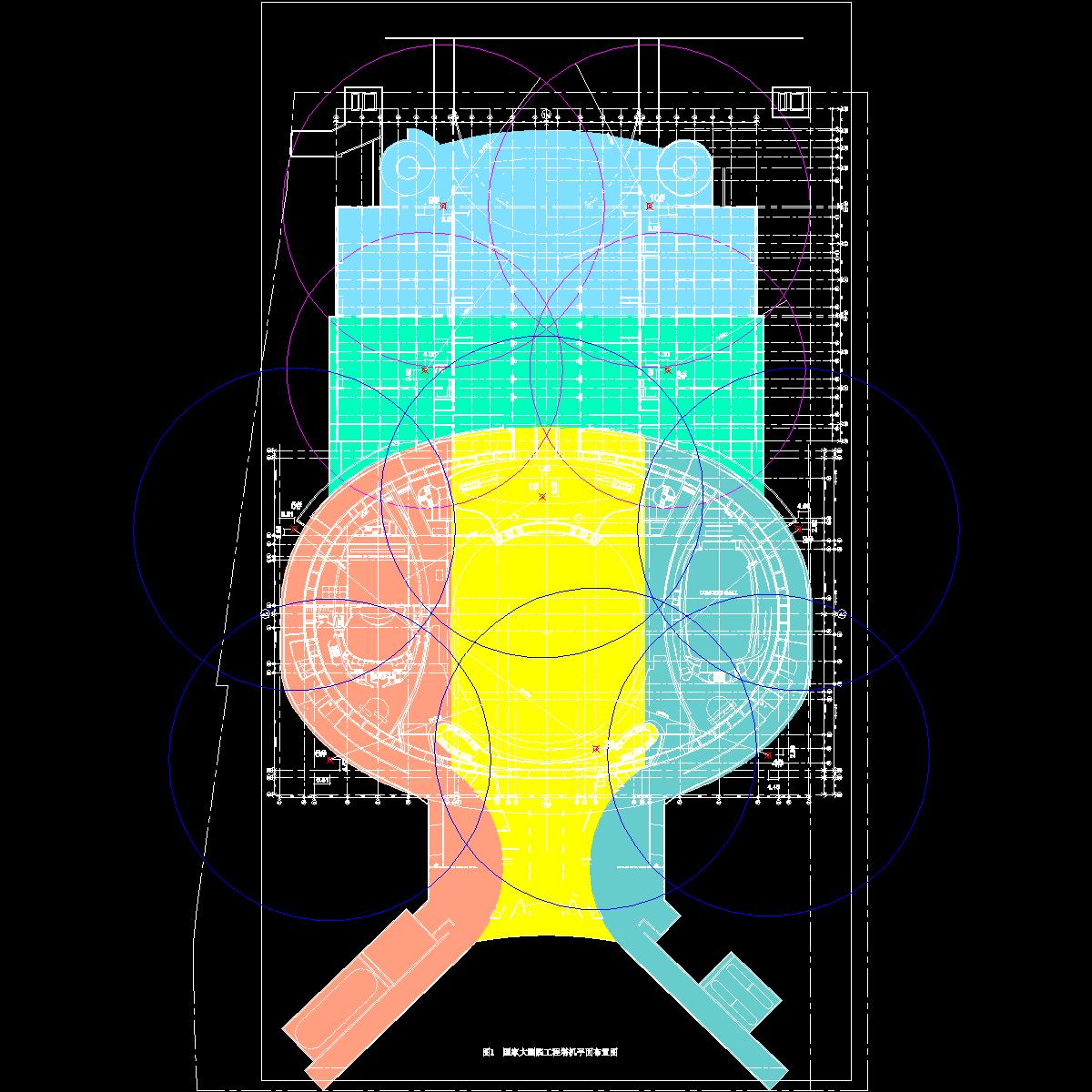 塔吊平面布置图20010905.dwg